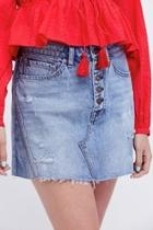 Denim Aline Skirt