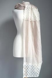 Lace Accent Scarf