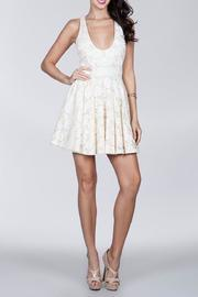 Lace Racerback Dress