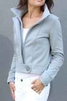 Cropped Fleece Jacket