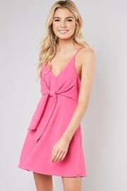 Ribbon Front Dress
