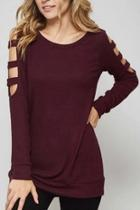 Ladder Long-sleeve Top