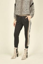 Leopard Track Pants