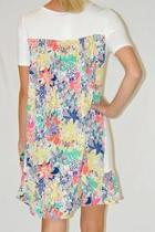 Patterned T-shirt Dress