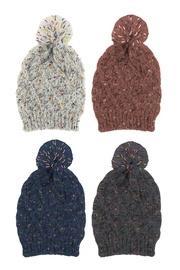 Lattice Knit Hat