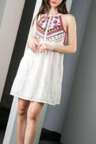 Embroidered Beaded Dress