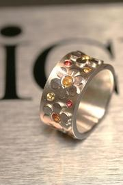 Flowers Ring Band