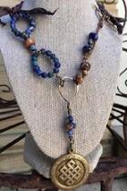 Brass-knot Necklace