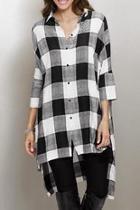 Oversize Plaid Shirt