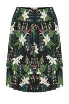 Tropical Layered Skirt