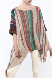 Freesia Stripe Pullover