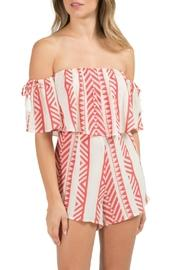 Aura Off-the-shoulder Romper