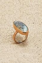 Copper Agate Ring