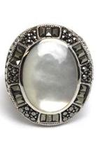 Sterling Mother-of-pearl Ring