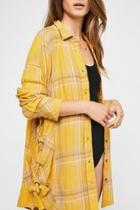 Yellow Plaid Buttondown