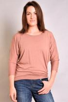 Dolman Ruched Top