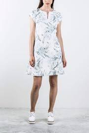 Printed Shortsleeve Dress