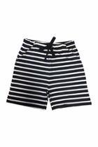 Navy Stripe Shorts
