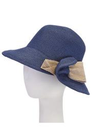 Cloche Contrast With Bow