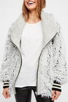 Fluffy Dolman Jacket