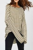 Oversize Striped Tee