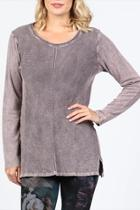 Neutral Ribbed Tunic