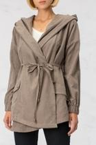Grey Hooded Jacket