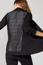 Perforated Back Jacket
