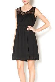 Run Paris Black Lace Dress