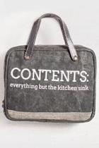 Sink Cosmetic Bag