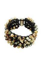 Tan Beads Bracelet