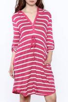 Vibrant Hooded Dress