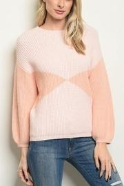 Pinky Peach Sweater