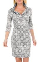 Ruffneck Printed Dress