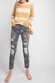 Distressed Star Skinnies