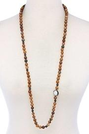 Beads & Rhinestone Necklace