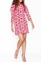 Eclipse Print Dress