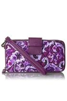 Lilac Paisley Smartphone-wristlet