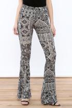 Print Flare Leggings