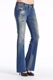 Bootcut Distressed Jean