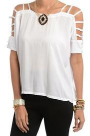 Glamsquad White Blouse