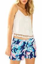 Magnolia Print Shorts