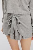 Tie Sweat Shorts