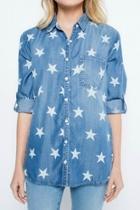 Stars Denim Shirt