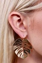 Golden Palms Earrings