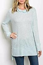 Blue Oversized Sweater