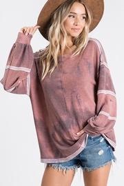 Rust Tie Dye Sweatshirt