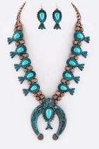 Squash Blossom Necklace-set