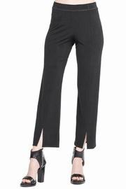 Front-slit Cropped Pants