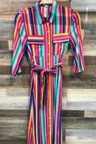 Multi-color Maxi Dress